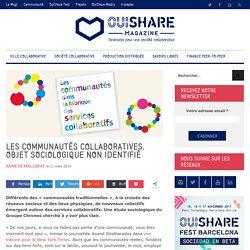 Les communautés collaboratives, objet sociologique non identifié