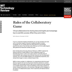 Rules of the Collaboratory Game