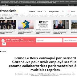 Bruno Le Roux convoqué par Bernard Cazeneuve pour avoir employé ses filles comme collaboratrices parlementaires à de multiples reprises