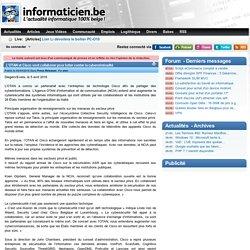 L'OTAN et Cisco vont collaborer pour lutter contre la cybercriminalité