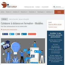 Collaborer à distance en formation - Modèles - Thot Cursus
