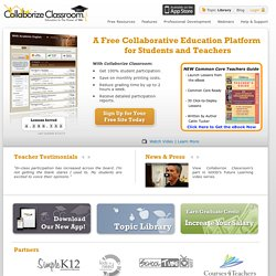 Collaborize Classroom | Online Education Technology for Teachers and Students