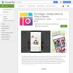 Pic Collage - Collage, Editor de fotos y Tarjetas - Apps en GooglePlay
