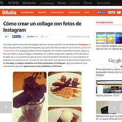 Cómo crear un collage con fotos de Instagram