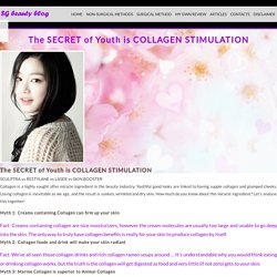 The SECRET of Youth is COLLAGEN STIMULATION