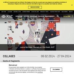 Collages – MAC Montréal
