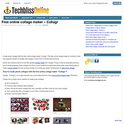 Online Collage Maker to Create Free Photo Collages
