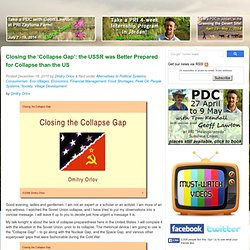 Permaculture Research Institute of Australia » Closing the 'Collapse Gap': the USSR was Better Prepared for Collapse than the US