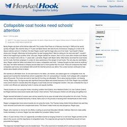 Collapsible coat hooks need schools' attention - HenkelHook HenkelHook