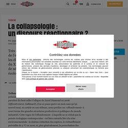 La collapsologie : undiscoursréactionnaire?