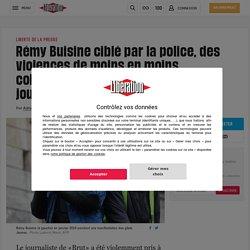Rémy Buisine ciblé par la police, des violences de moins en moins collatérales vis-à-vis des journalistes