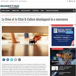 Le Drive et le Click & Collect développent le e-commerce