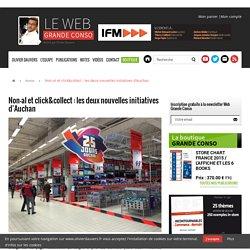 Non-al et click&collect : les deux nouvelles initiatives d'Auchan