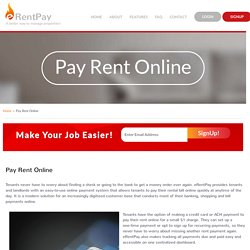 Online Rent Collection