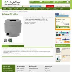 Collecteur filtrant Eco Collecteur eau de pluie