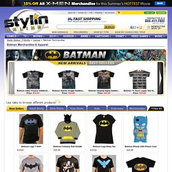 Batman Shirts, Clothing, and Collectible Merchandise