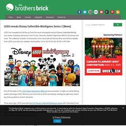 LEGO reveals Disney Collectible Minifigures Series 2 [News]