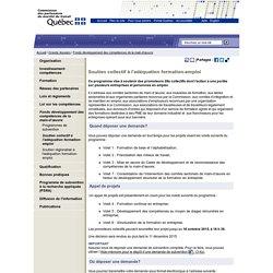 Soutien collectif à l'adéquation formation-emploi > CPMT