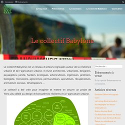 Le collectif Babylone - Living Roof