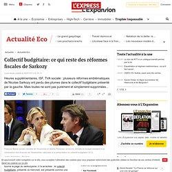 Collectif budgétaire: ce qui reste des réformes fiscales de Sarkozy