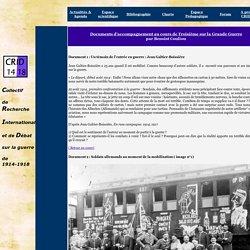 Collectif de Recherche International et de Débat sur la guerre de 1914-1918