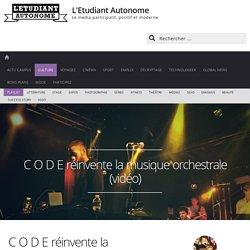 Code: le collectif qui réinvente la musique orchestrale