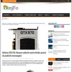 GeForce GTX 970, Recours collectif contre Nvidia accusé de publicité mensongère