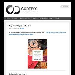 Collectif de Recherche Transdisciplinaire Esprit Critique & Sciences