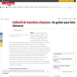 Saint-Brieuc - Collectif de transition citoyenne. Un goûter pour bien démarrer