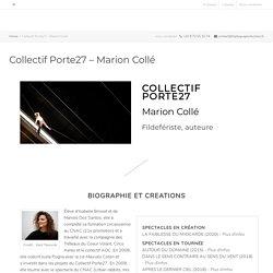 Collectif Porte27 – Marion Collé