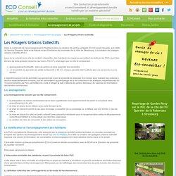 Potagers Urbains collectifs, jardins partagés, jardins de développement social, Strasbourg, ECO-Conseil, jardins collectifs