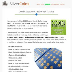 Coin Collecting for Beginners (Guide) - Silver Coins