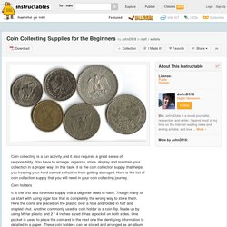 Coin Collecting Supplies for the Beginners - All