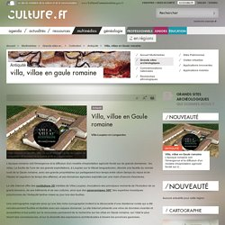 Villa, villae en Gaule romaine / Antiquité / Collection / Grands sites archéologiques