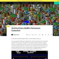 SimCity Enters MoMA's Permanent Collection!