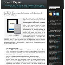 Candide & Cyrano, la collection de grands classiques de Primento éditions