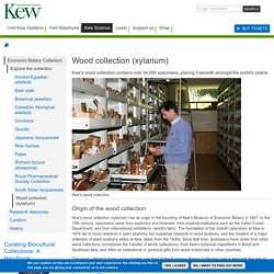 Science & Conservation At Kew