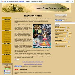 A collection of Creation Myths from all the different cultures around the world.
