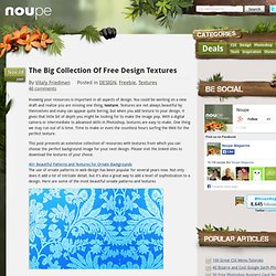 The Big Collection Of Free Design Textures - Noupe Design Blog