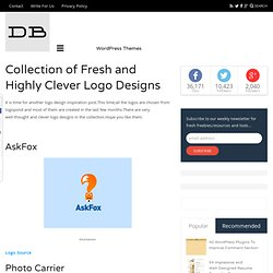 Collection of Fresh and Highly Clever Logo Designs