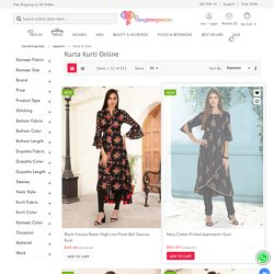 Kurtis Tops Online, Buy Women Kurtas and Tops Collection - Eanythingindian