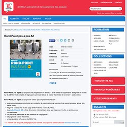 Collection » Rond-Point pas à pas A2 | Éditions Maison des Langues