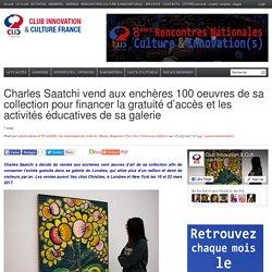 Charles Saatchi vend aux enchères 100 oeuvres de sa collection pour financer la gratuité d'accès et les activités éducatives de sa galerie