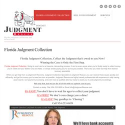 Florida Judgment Collection - Florida Judgment Collection and Enforcement