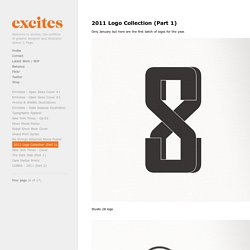 2011 Logo Collection (Part 1) - excites - the Portfolio of Simon C. Page
