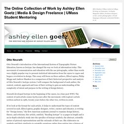 The Online Collection of Work by Ashley Ellen Goetz