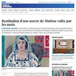 Collection Gurlitt: Restitution d'une œuvre de Matisse volée par les nazis - Culture