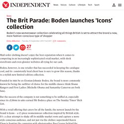 The Brit Parade: Boden launches 'Icons' collection