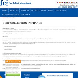 Debt Collection Services In France