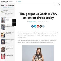 Oasis x V&A Collection shop now: Laura Jackson models range